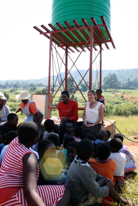 Crystal and Mbekleweni Kids